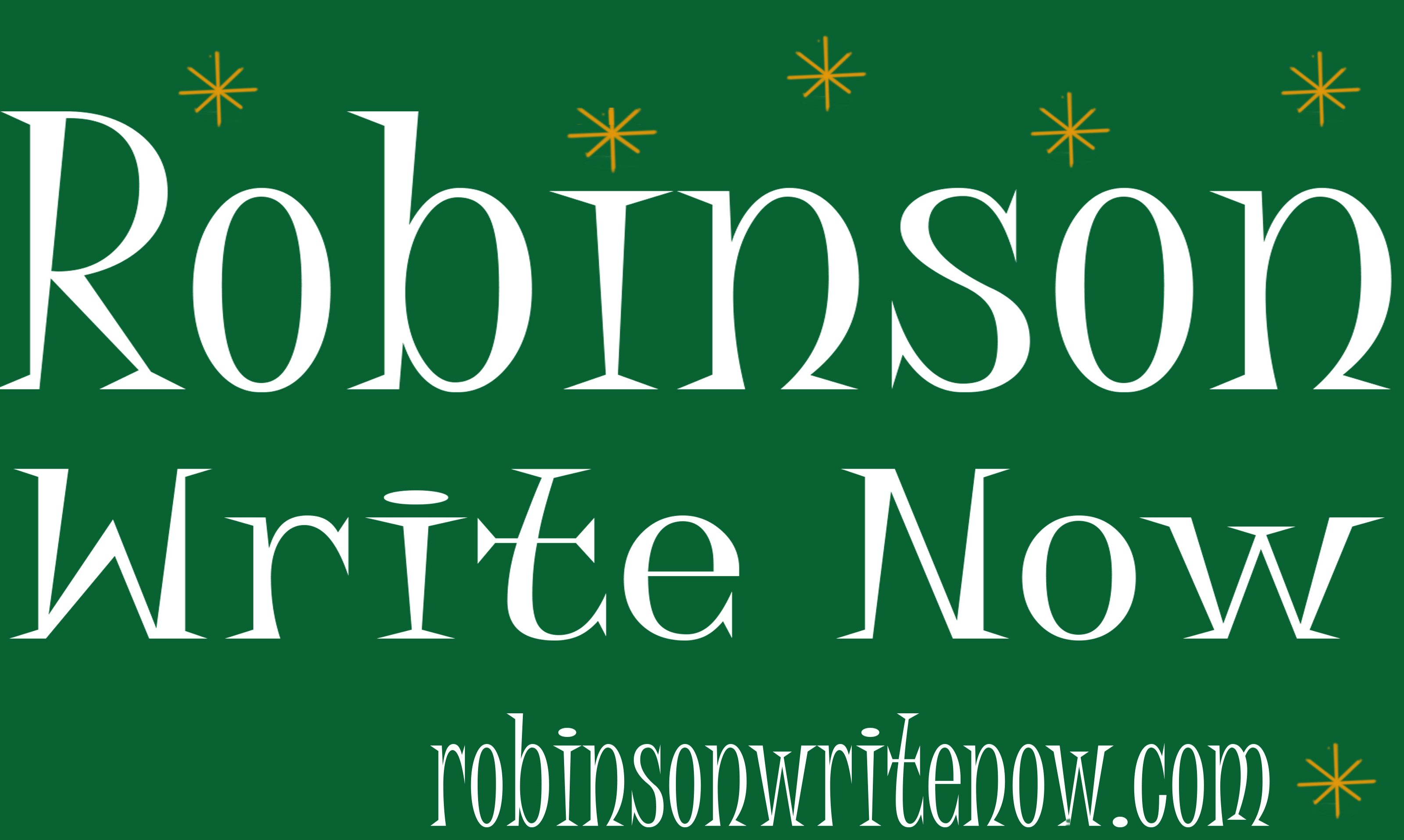 Robinson Write Now